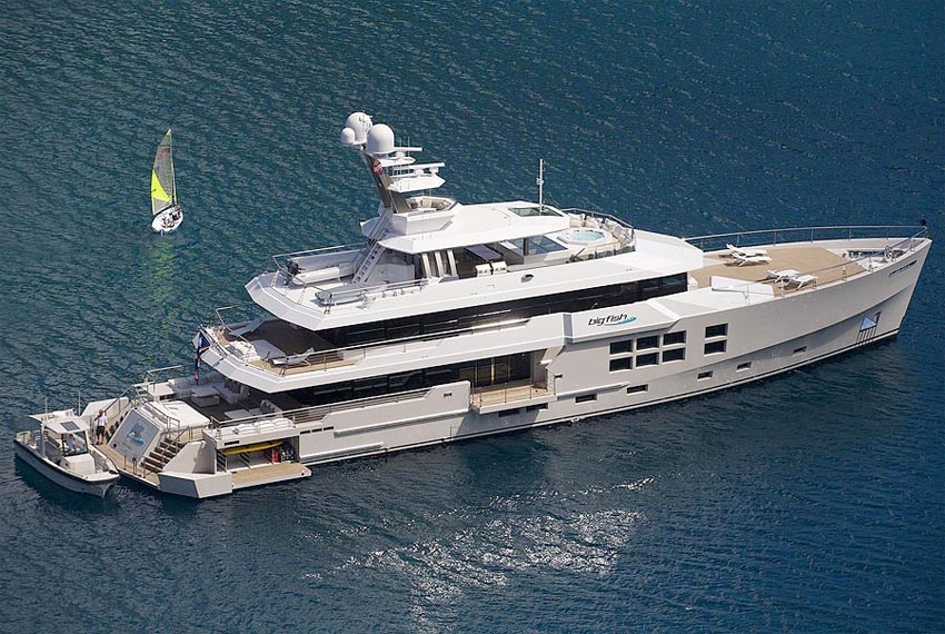 Big Fish Luxury Expedition Motor Yacht Available For